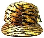 Blank Tiger Print Snapback Hats Caps Wholesale