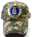 Wholesale US Military Ball Caps - Air Force Insignia Hats