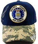 Wholesale US Military Ball Caps - Air Force Emblem Hats