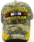 Wholesale US Military Ball Caps - Afghanistan Veteran Hats