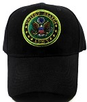 Wholesale US Military Army Insignia Ball Caps - Black