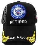 Wholesale US Military Navy Retired Caps - Insignia Hats 2