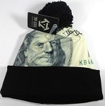 Wholesales Fashion Pom Pom Beanie Winter Hats - Money - Big Benjamin