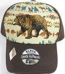 Native Pride Brown Bear - Baseball Cap
