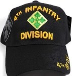 Licensed Military Hat Wholesale - 4th Infantry Division