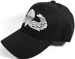 Wholesale US Army Military Caps - Army Paratrooper Logo - Black