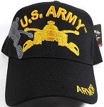 US Military Wholesale Licensed Baseball Cap - US Army Armor