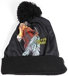 Wholesales Fashion Pom Pom Beanie Winter Hats - Native Pride - Horse
