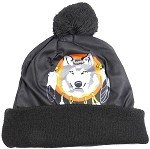 Wholesales Fashion Pom Pom Beanie Winter Hats - Native Pride - Wolf