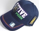 Wholesale Native Pride Baseball Hats - Bear - Navy Blue