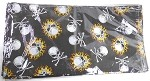 Flaming and Pirate Skull Design Bandannas Wholesale (Dozen Packed) - Single-Sided