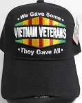 Wholesale Military Baseball Cap - Vietnam Veteran - They Gave All