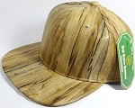 Colored Woodprint Solid Blank Snapback Hats Wholesale - Original
