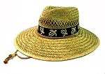 Summer Straw Hats Wholesale - Turtles (Black) Band