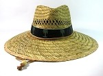 Straw Hat Wholesale - Summer / Sun Protection Hats - Palm Trees Band