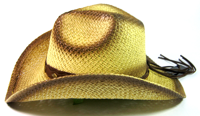 Wholesale Cowboy Straw Western Hats - Toasted Edges Bulk Discount ... 57309639624