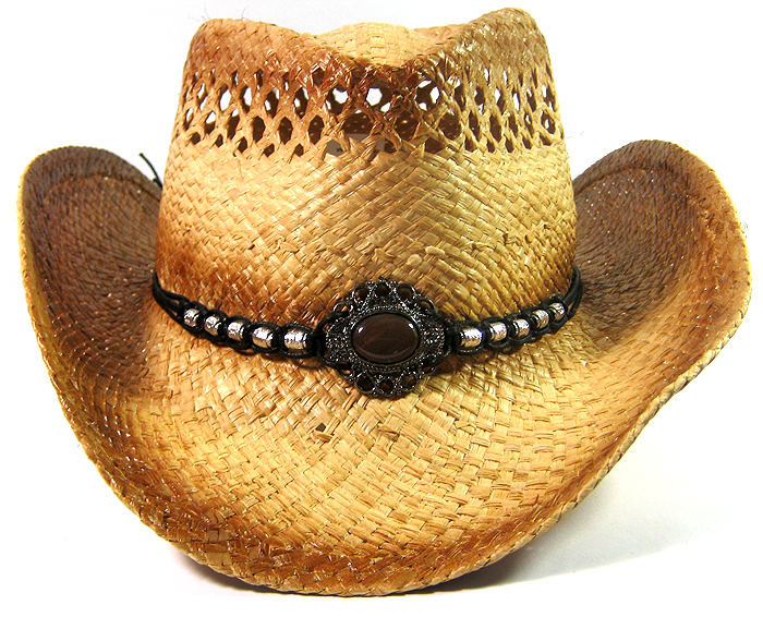 Home   ALL HATS   Cowboy Western Straw Hat Wholesale - Toasted Edges fdacbe0a5f1