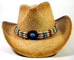 Cowboy Hat Wholesale - Beads & Buttons - Toasted Straw