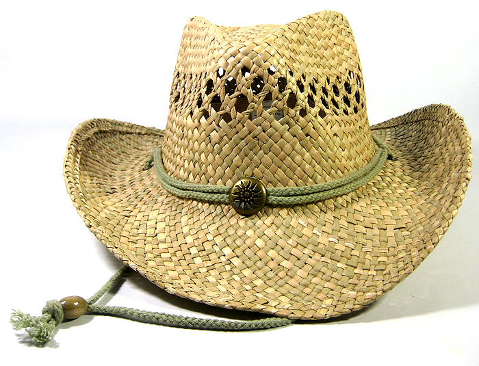7854e9c8554 Wholesale Cowboy Cowgirl Hats Made with Natural Straw Toasted - Fashionable  Trendy Popular Button Cowboy Hats Bulk Sale