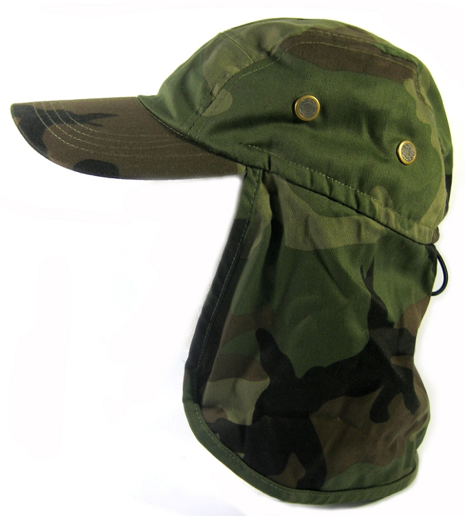 Wholesale Summer Sun Protection Ear Flap Hats Caps - Baseball Cap Style  Outdoor Hunting Fishing Hats Neck Shade UV Hat Army Digit Camouflage f3e1cfc28ac