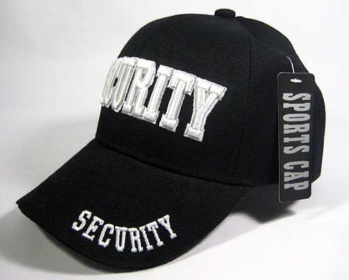 SECURITY Caps Hats Wholesale Law   Order Hats - Security Logo Solid ... 2bb21538b6c