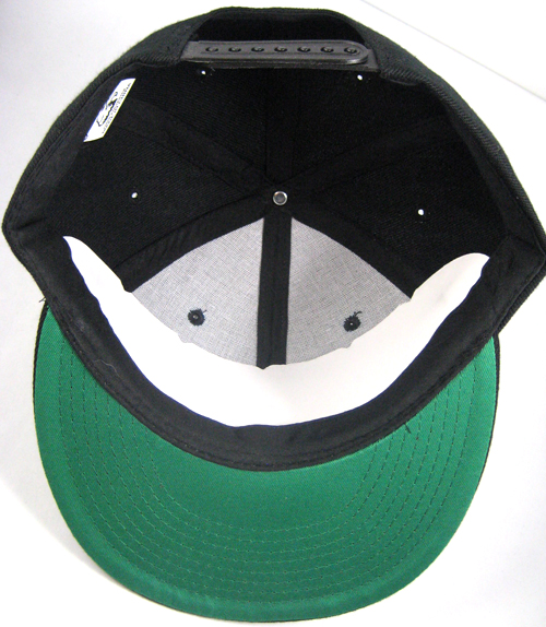 Wholesale Blank Plain Snapbacks Flat Bill Vintage Green Underbill ... 155a935918e