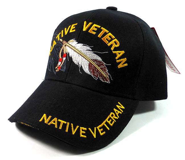 c8790ec1c06e2 Native Pride VETERAN Baseball Caps Hats Wholesale