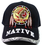Native Pride Dream Catcher Baseball Caps Hats Wholesale