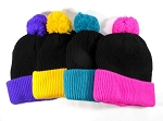 Beanies Wholesale | Pom Pom Beanies Trendy Winter Hats 5