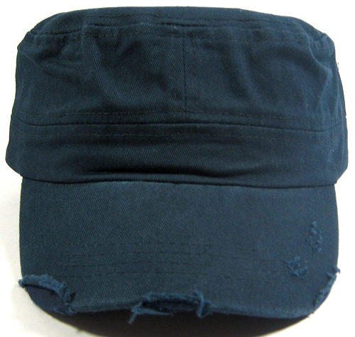 c8f4c9ecedd Wholesale Blank Cadet Hats Navy Distressed Military Army Caps for Women