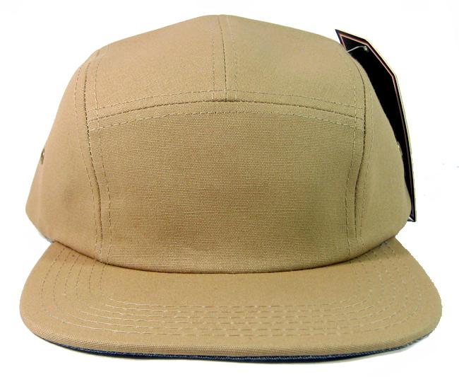 abe0182fa8f92 Wholesale Blank 5 Panel Camp Hats Caps Khaki Bulk