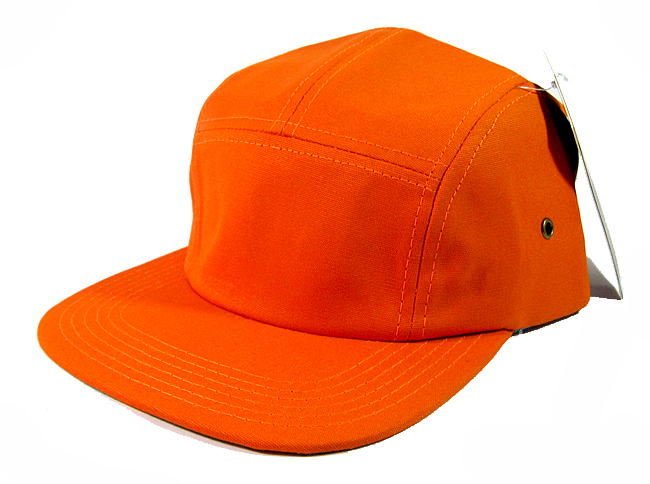 79a49467 Home > ALL HATS > Blank 5 Panel Camp Hats/Caps Wholesale - Orange
