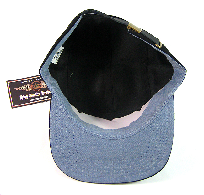 6176fab328f Blank 5 Panel Camp Hats Caps Wholesale - Solid Black