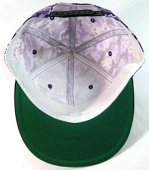 35fa2a2c4 Wholesale Blank Snapback Hats - Purple Camo | Black Brim
