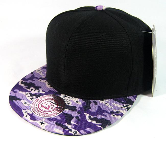 Wholesale blank snapback hats black purple camo jpg 650x557 Black and purple  snapback hats 2b25c6c16f3f