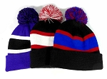 Pom Pom kc Beanies Trendy Winter Hats Wholesale 6