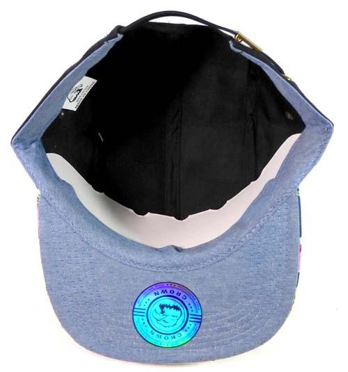 89b594f3c2d47 Junior Kids 5 Panel Camp Hats Wholesale - Children Floral Caps 7