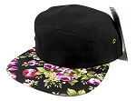 Junior Kids 5 Panel Camp Hats Wholesale - Children Floral Caps 1