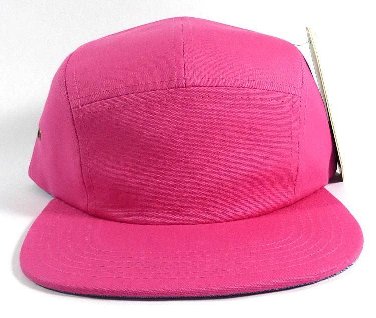 Blank 5-Panel Camp Hats Caps Wholesale