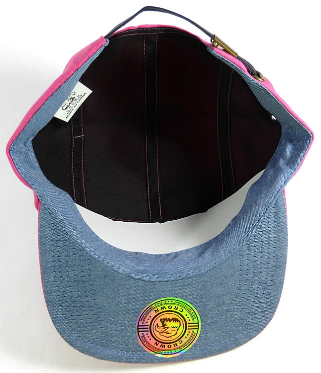 Blank 5-Panel Camp Hats Caps Wholesale - Hot Pink 5e92ca3075a6