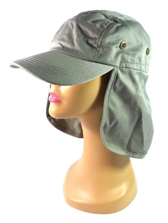 Wholesale Summer Ear Flap Sun Hats Baseball Caps Style - Gray e29e98fe2d3