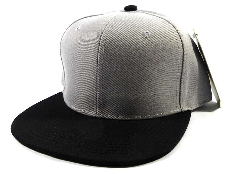 25ac8a7a48813 INFANT Baby Blank Snapback Hats   Caps Wholesale - Solid Charcoal Denim  Grey.  4.99. Select Brand.  manufacturer