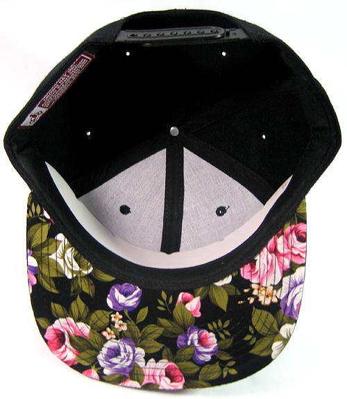 cc03baf5ff5 Wholesale FLORAL Snapback Hats Blank Plain Caps Green Bulk