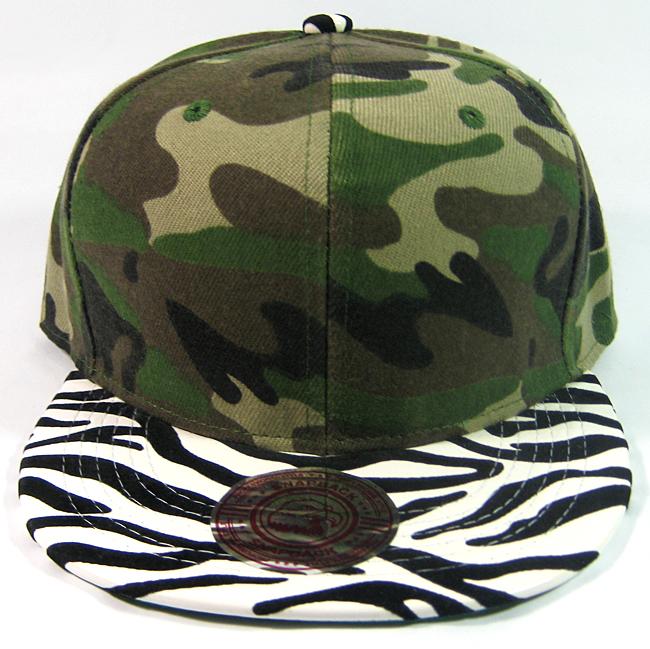 028a9d9adeb Blank Zebra Print Retro Snapback Hats Wholesale