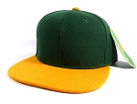Blank Snapback Hats Caps Wholesale -  D.Green | Gold