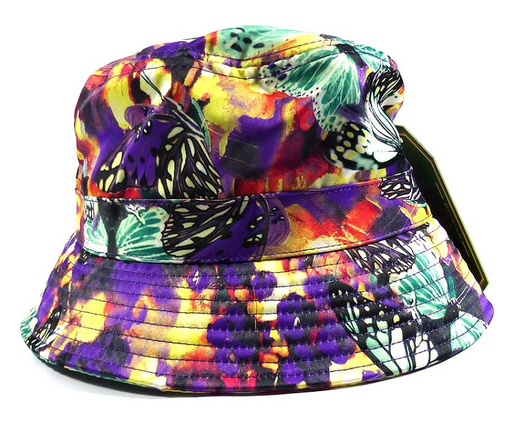 488e5fb990f08 Home   ALL HATS   Wholesale Fashion Bucket Hats - Mixed Paint Butterflies
