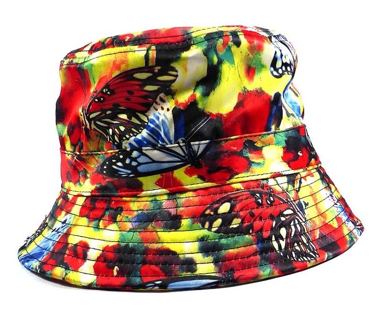 Wholesale Fashion Bucket Hats - Mixed Paint Butterflies  5f8eddabf5f