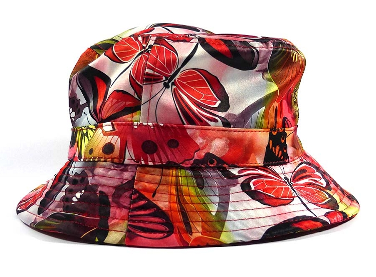1d4ab8388 Wholesale Fashion Bucket Hats - Dragonflies | Coral Red (56 pcs)