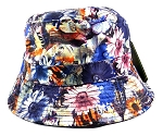 Wholesale Fashion Bucket Hats - Daisy Flowers & Love Print