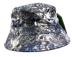 Wholesale Fashion Bucket Hats - Peacock Feathers | Black